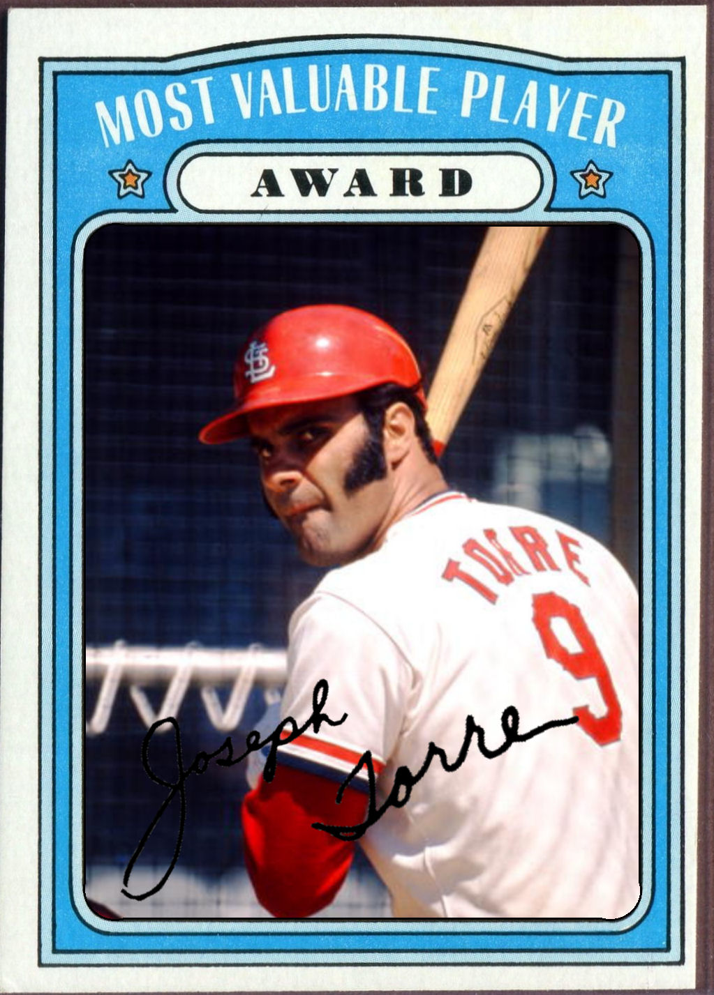 Cards That Never Were 1972 Topps Mvp Award Joe Torre