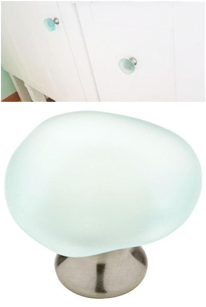 Sea Glass Knob Beachy Hardware