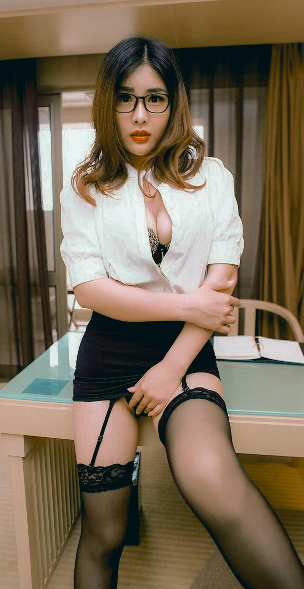 Yan Panpan 闫盼盼 | Nymph Voluptuous Secretary | | Gravure ...