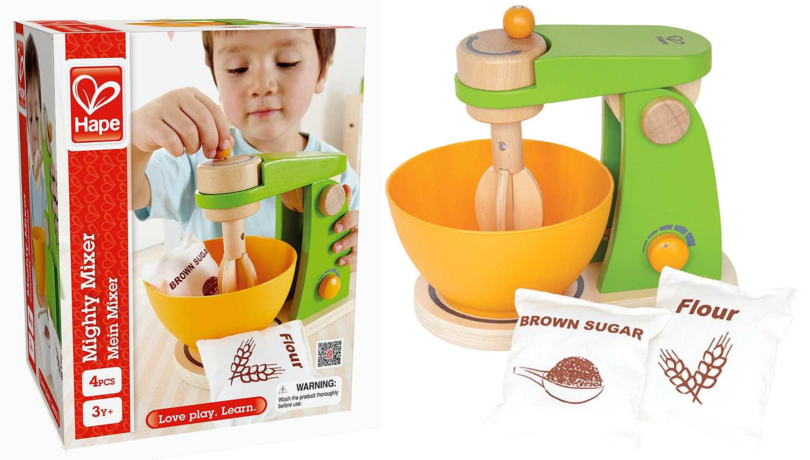 Amazon 11 89 Reg 22 48 Hape Mighty Mixer Wooden Play Kitchen