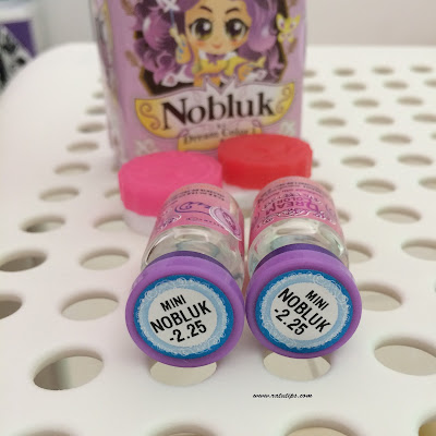 Review Softlens Nobluk Blue by Dream Colour Softlens