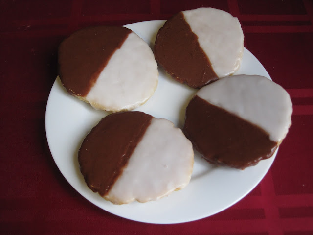 Black & White Cookies - Chloe's Vegan Desserts