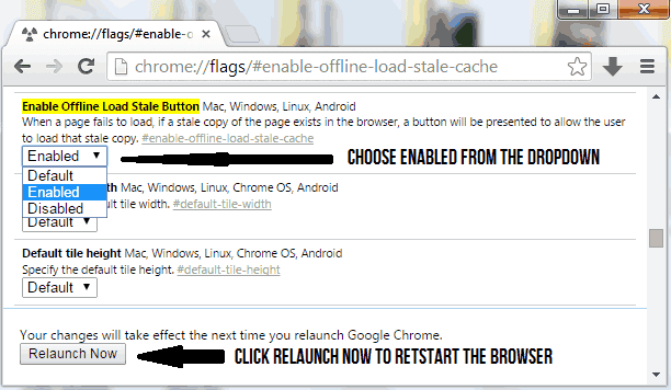 How to Enable Offline Browsing in Google Chrome