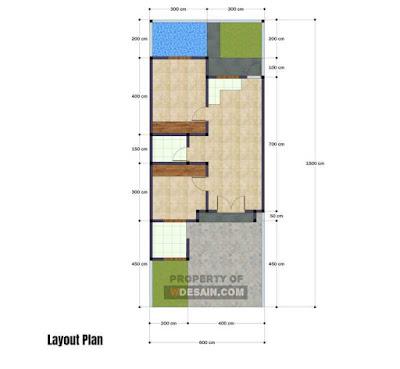 Gambar Rumah Minimalis Modern 6x15 Ada Kolam Renangnya Desain Rumah Minimalis