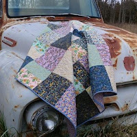 Menagerie Cotton and Steel Quilt