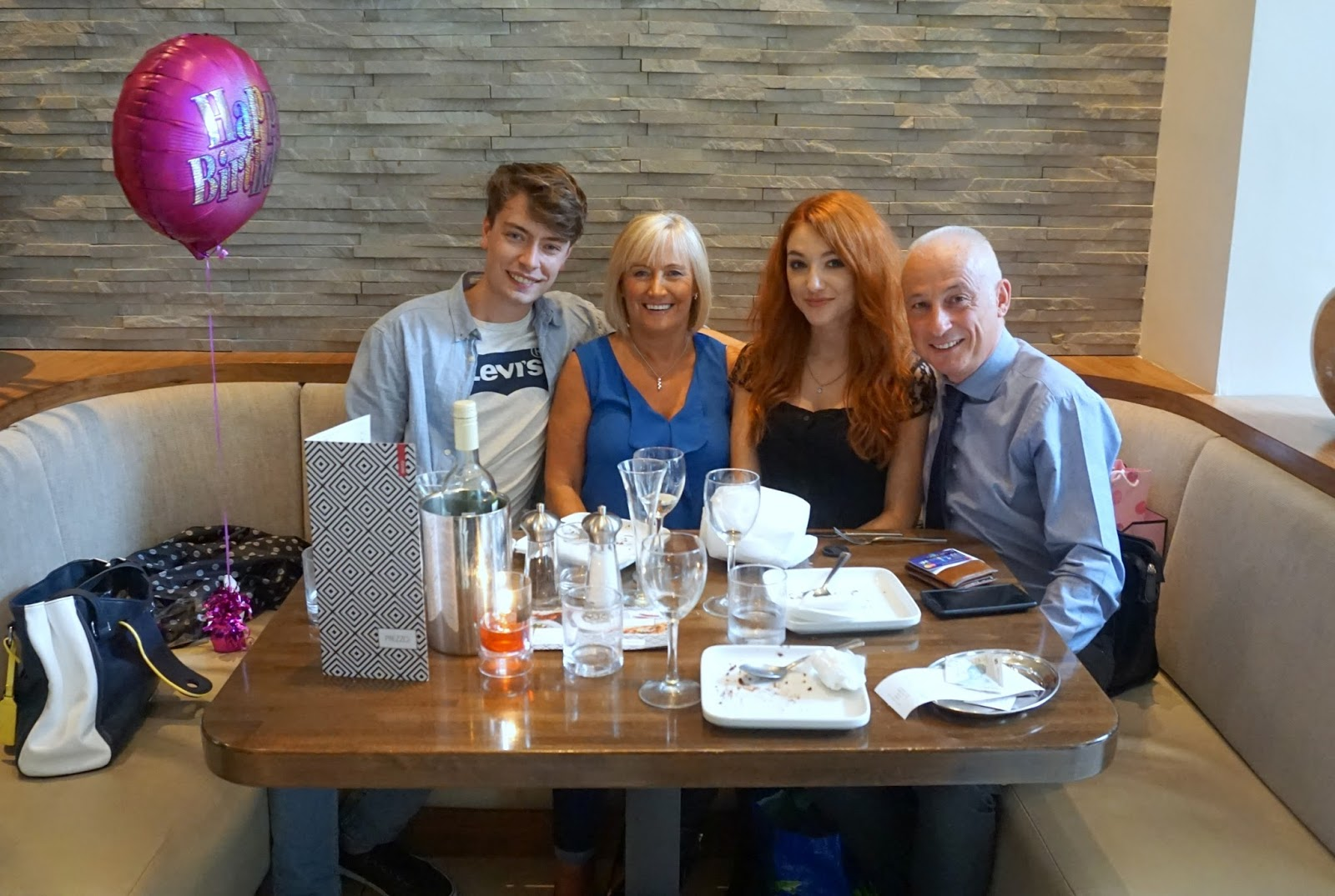 22nd Birthday Dinner Prezzo Glasgow