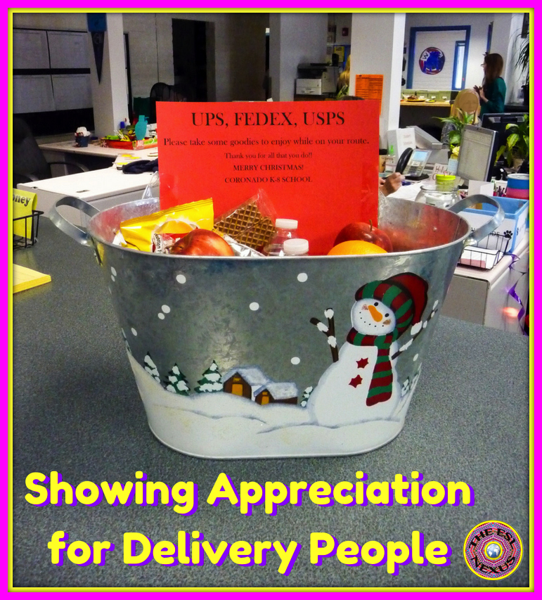 How to show appreciation for support staff and mail people during the holiday season | The ESL Connection