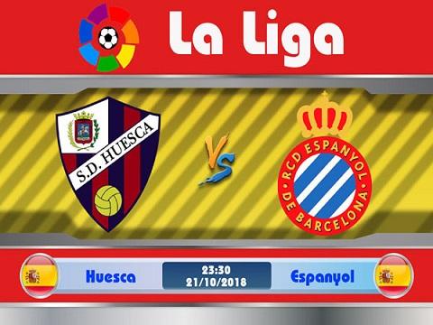 Huesca gặp Espanyol tại vòng 9 của giải đấu La Liga