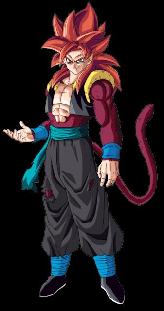 Super Saiyan 4 como Gogeta Xeno