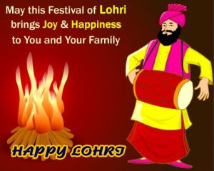 Happy Lohri Quotes, Wishes, Sms in English