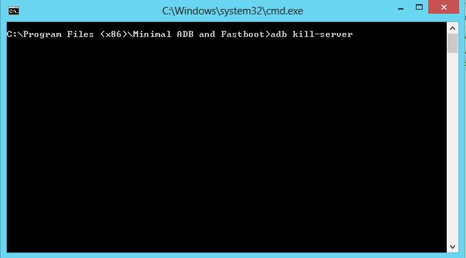 adb kill-server