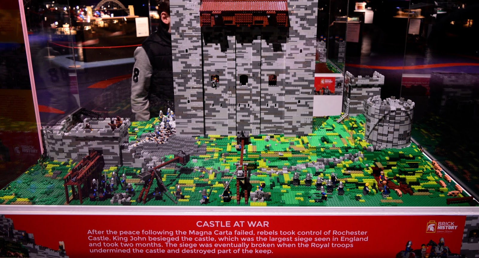 Brick History & North East Landmarks | New Lego Exhibitions at Life Science Centre, Newcastle | A Review - Castle at war