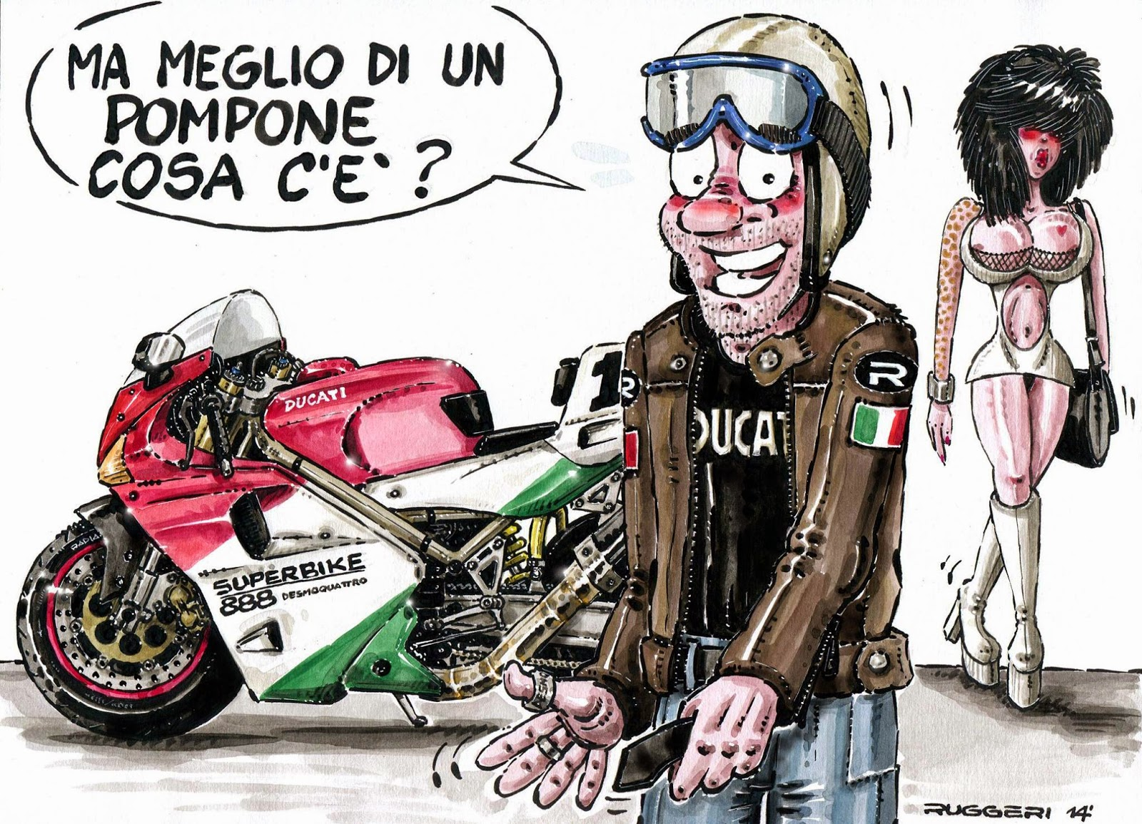 Racing Cafe Ruggeri S Comics 42