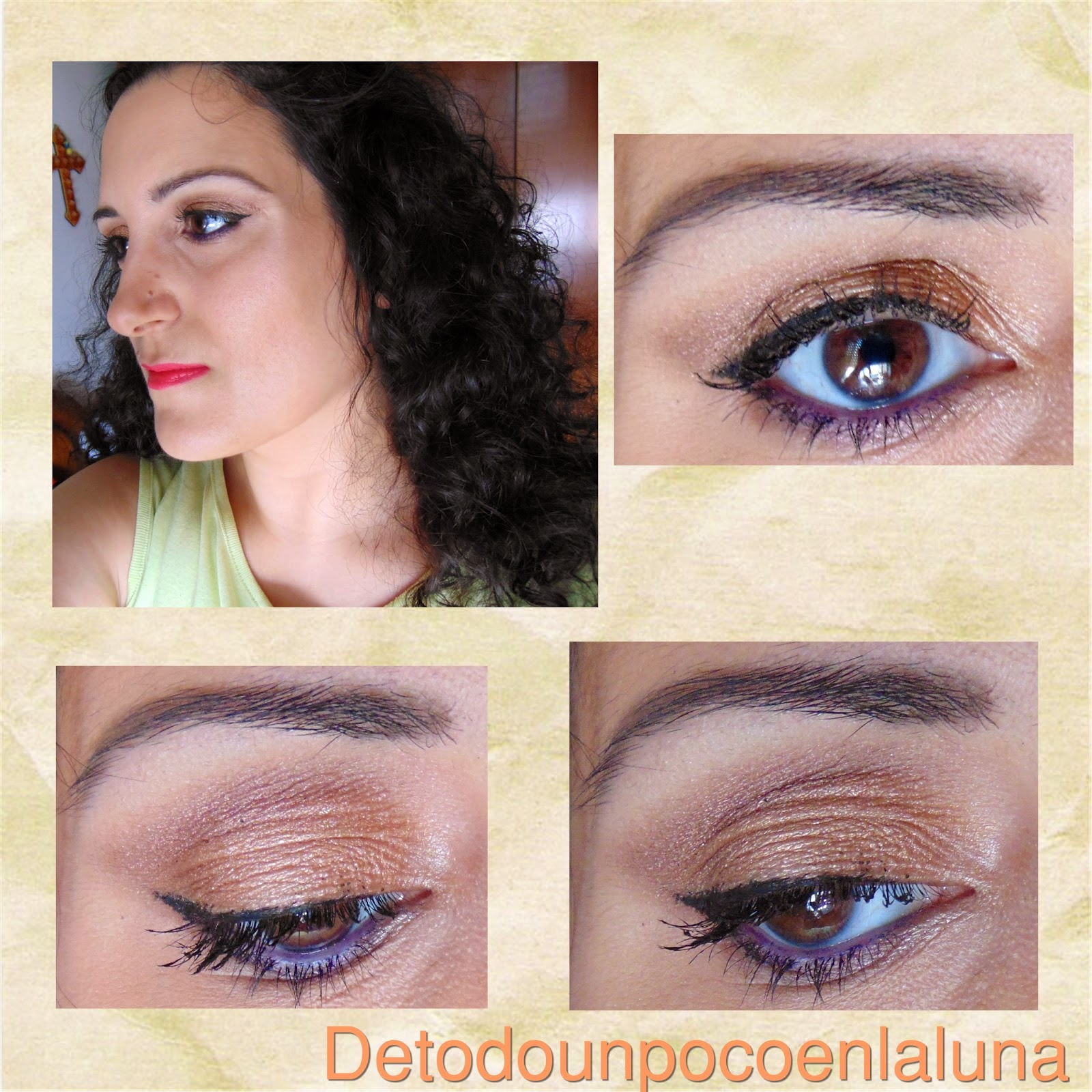 look Paleta I heart Chocolate de I heart makeup