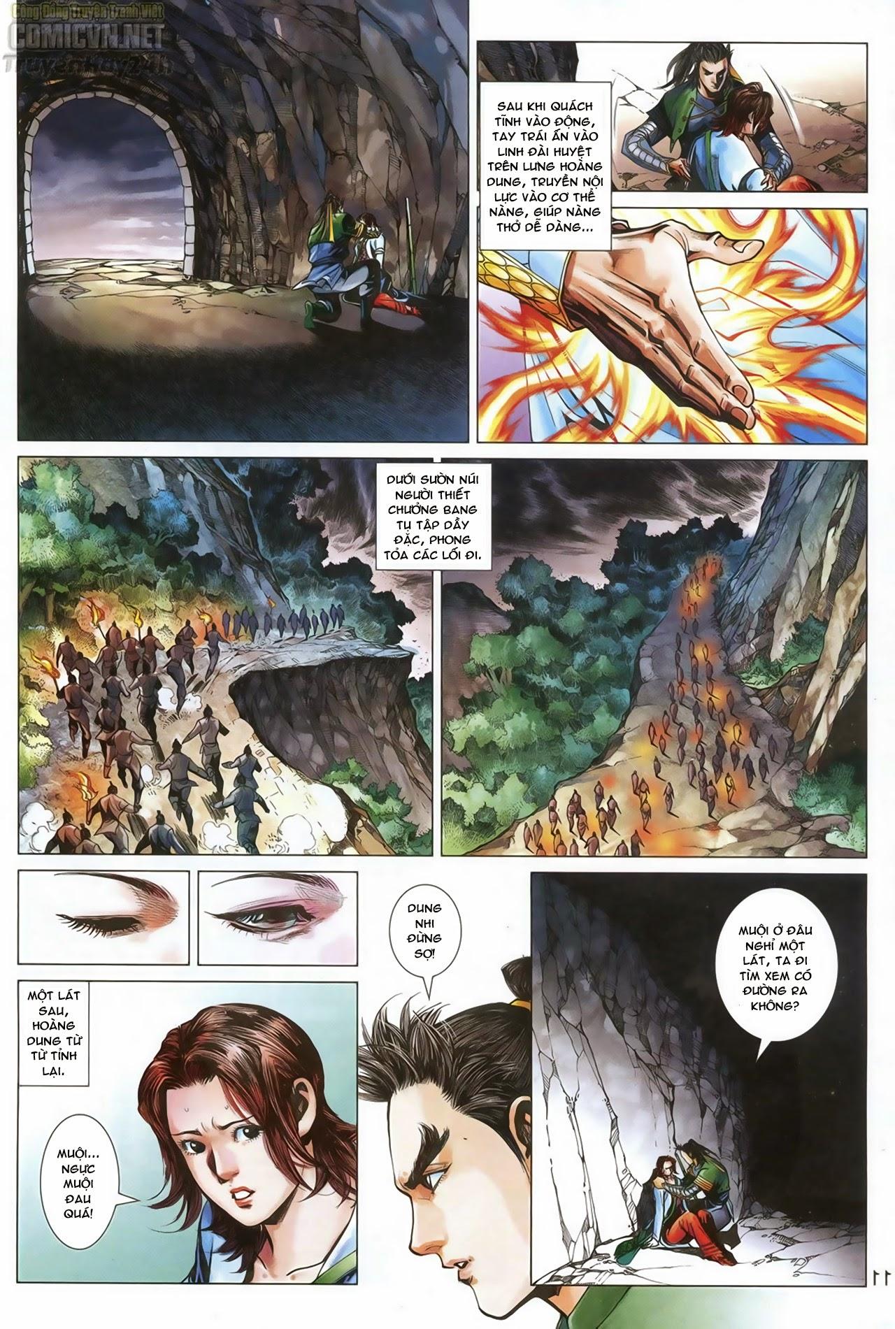 Anh Hùng Xạ Điêu anh hùng xạ đêu chap 69: hồn đoạn thiết chưởng phong trang 12