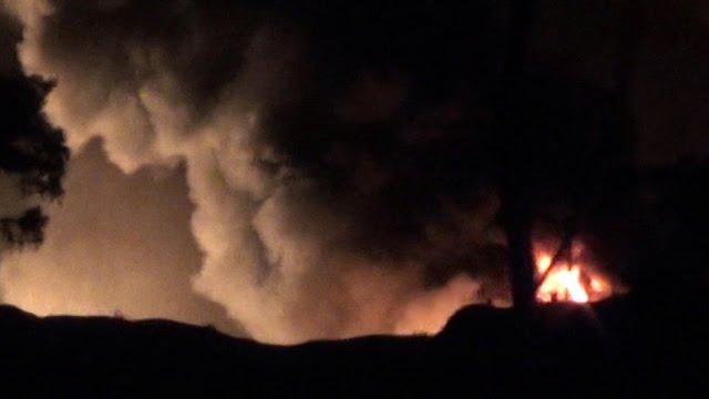 Fuego base militar siria