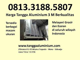 Harga tangga aluminium 3 mtr berkualitas