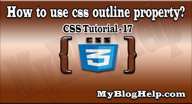 outline property in  css