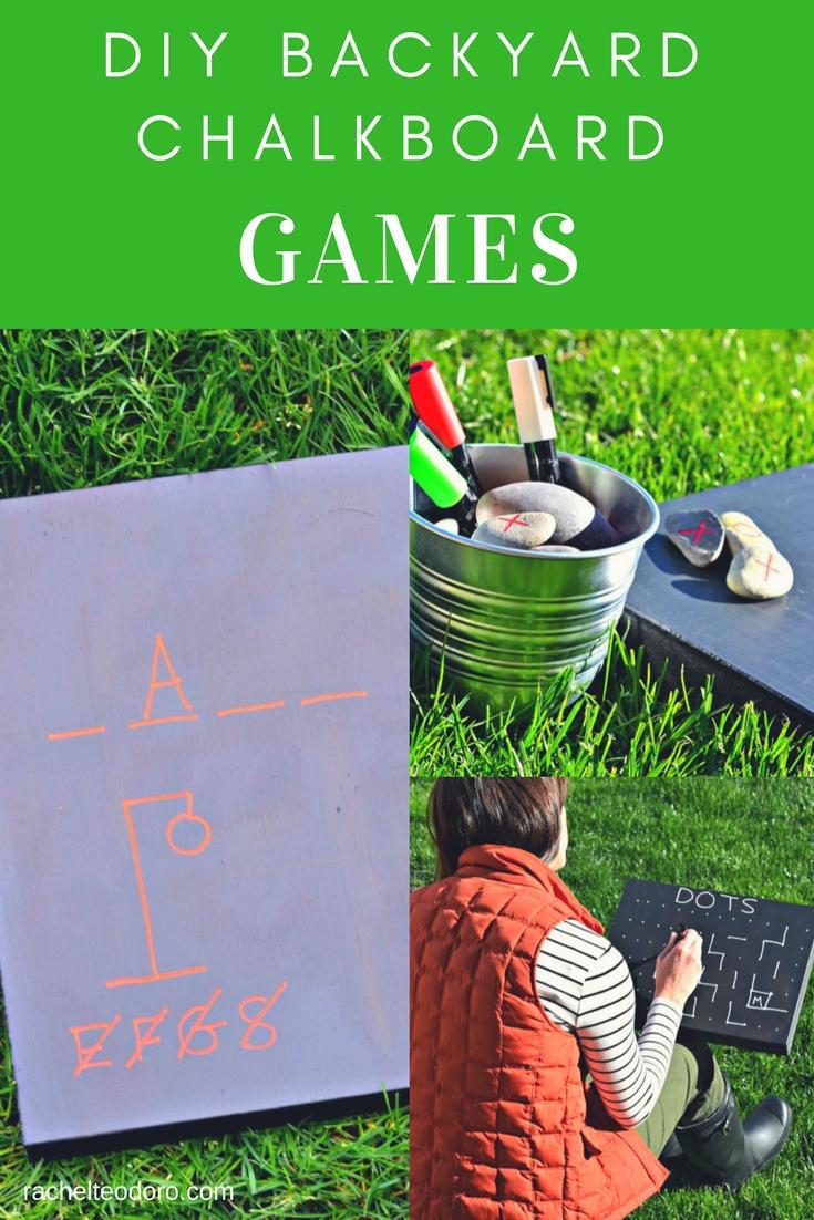 backyard chalkboard games rachel teodoro