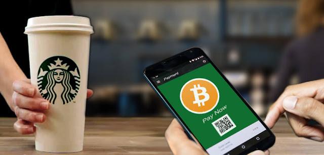 Sebentar Lagi Bitcoin Bisa Buat Beli Kopi DI Starbucks