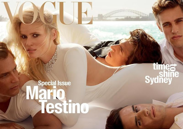 Mario Testino Vogue Australia