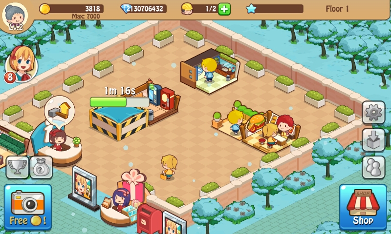 Happy Mall Story Mod Apk Unlimited Golds And Diamonds