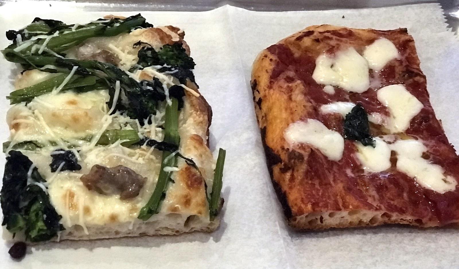 Pizza Quixote: Review: Rione Pizza Al Taglio ...