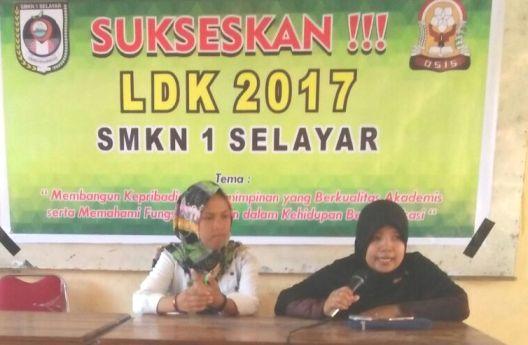 OSIS SMKN 1 Selayar, Gelar LDK, 2017