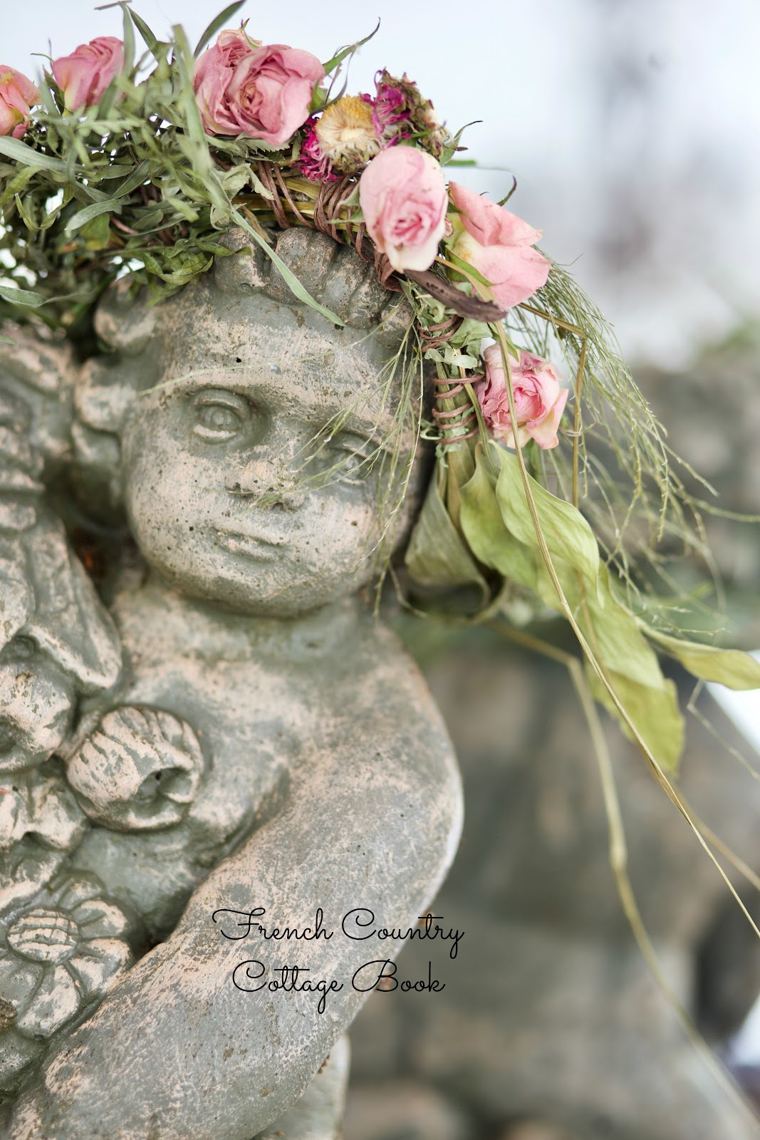 Sneak Peek Making A Flower Crown French Country Cottage