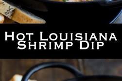 Hot Louisiana Shrimp Dip