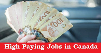 High Paying Jobs in Canada