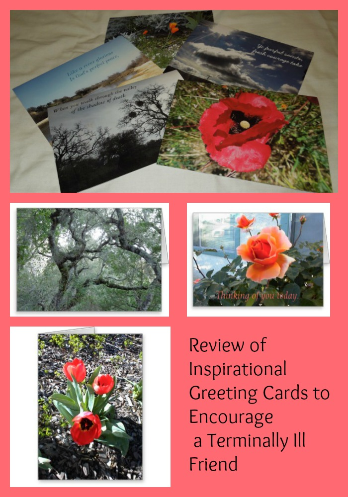 Review of Inspirational Greeting Cards to Encourage a Terminally Ill Friend