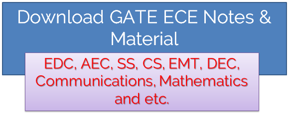 Download GATE ECE Notes