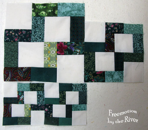 Green crossroads blocks and tutorial at Freemotion by the River
