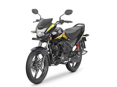 All New 2017 Honda CB Shine SP front look