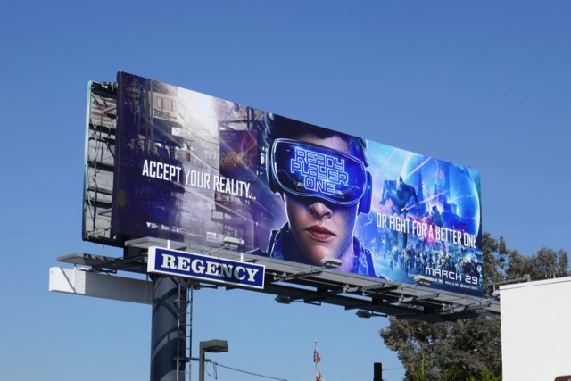 Ready Player One film billboard