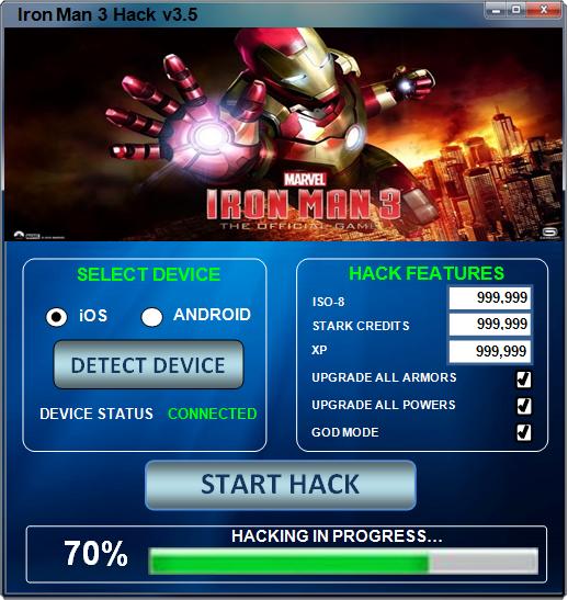 iron man 3 hack cheat crack t l chargement gratuit iso 8 illimit nouveau astuces jeux. Black Bedroom Furniture Sets. Home Design Ideas