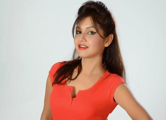 Nepali Actress Benisha Hamal Exclusive Photoshoot Behind