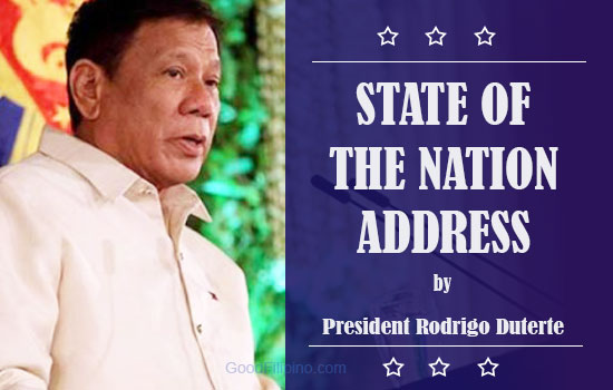 SONA 2016: President Rodrigo Duterte SONA Livestream Video