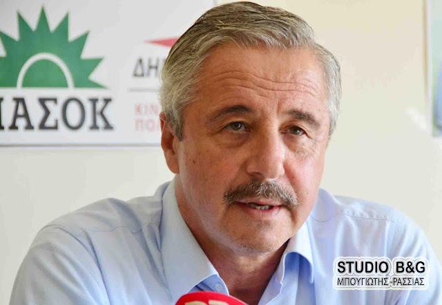 Ο Γ.Μανιάτης ζητά την άμεση κινητοποίηση των υπηρεσιών του Υπουργείου Αγροτικής Ανάπτυξης για τις ζημιές των ελαιοπαραγωγών της Αργολίδας