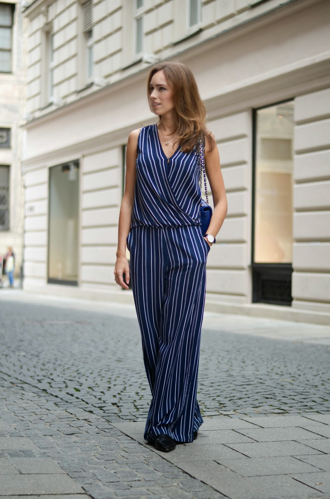 kristjaana mere street style summer outfit stripes