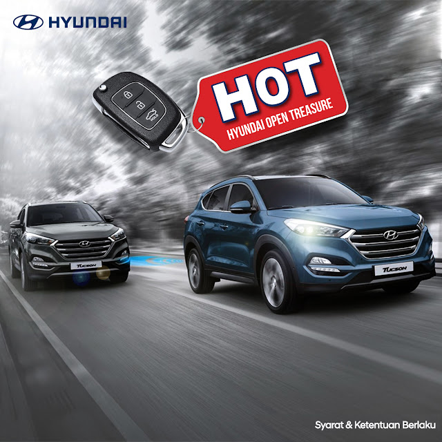 Promo HOT (Hyundai Open Treasure) Akhir tahun