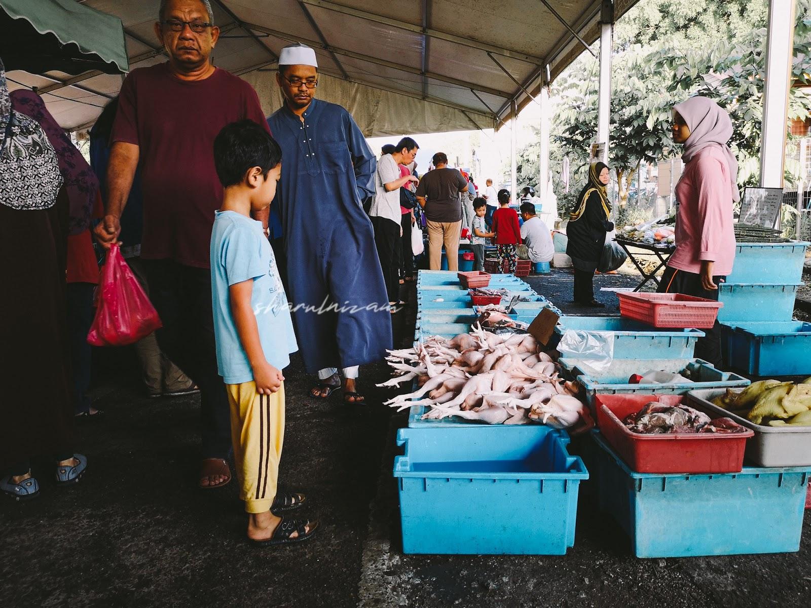 Pagi Sabtu di Pasar Tani Gombak Setia