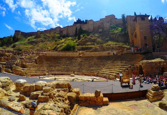 Roman Theatre of Malaga under La Alcazaba