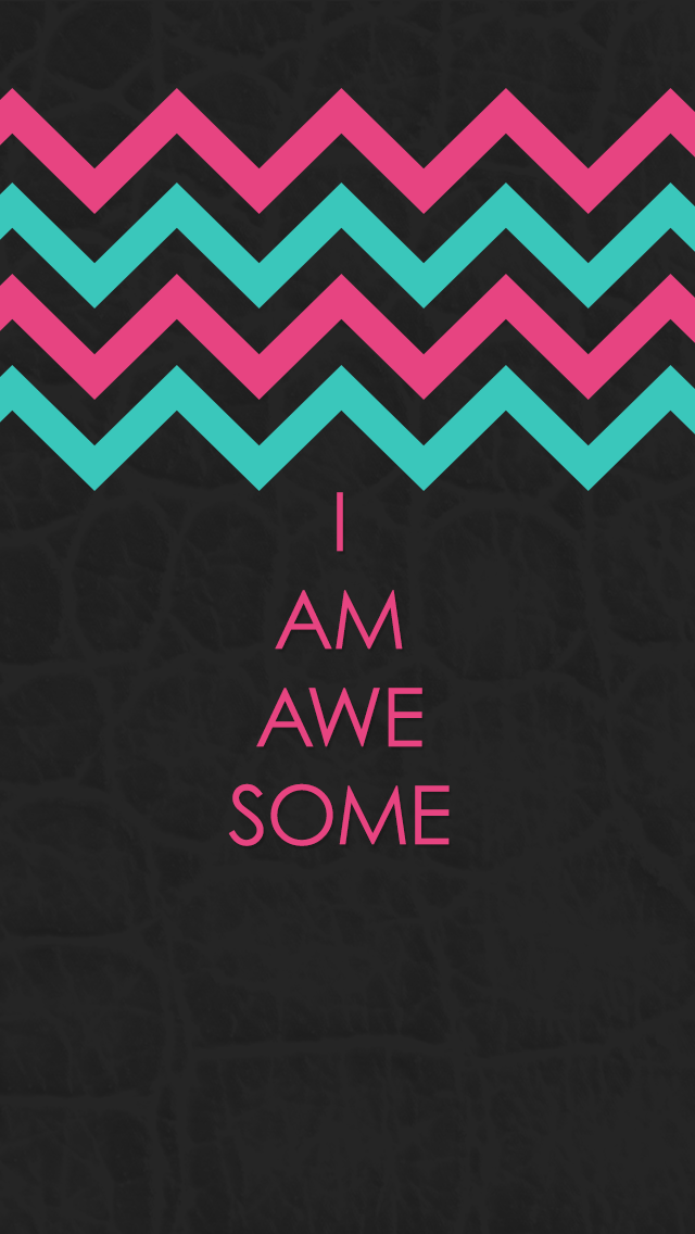 Am I Unproportional What Is Lagging In My Body: I AM AWESOME Wallpaper