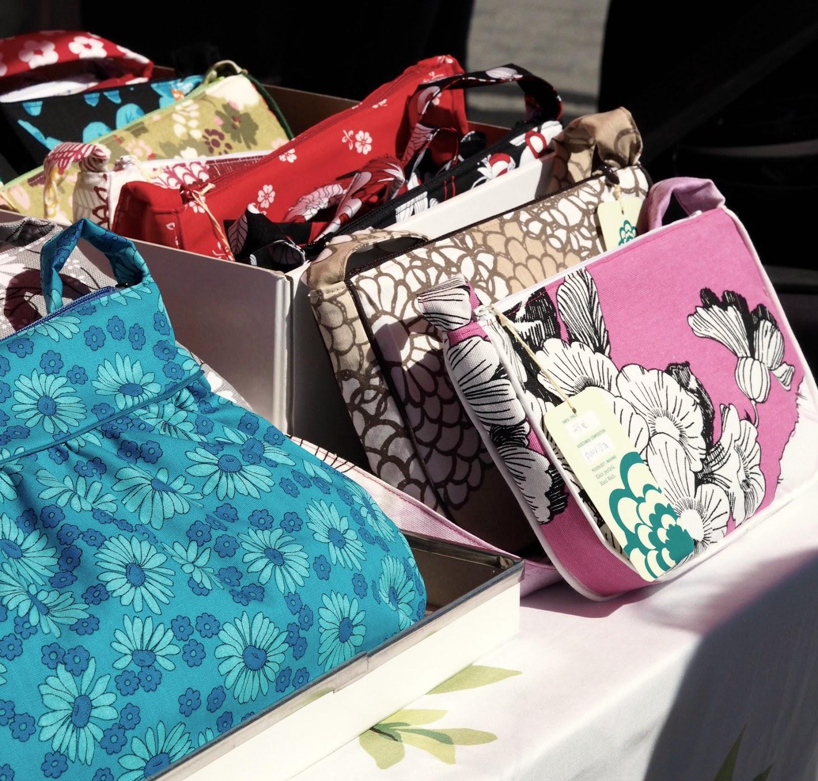 maru's bags marusbags laukku kierrätysmateriaali