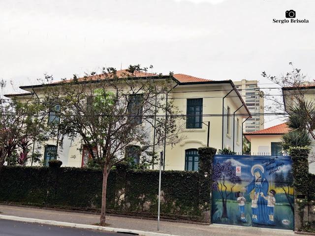 Vista ampla do Colégio Vicentino Padre Chico - Ipiranga - São Paulo