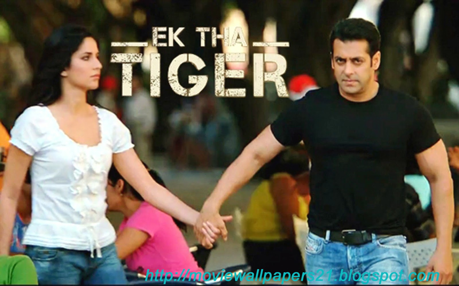 Salman Khan And Katrina Kaif In Ek Tha Tiger: Online Movies Wallpapers: Salman And Katrina Ek Tha Tiger