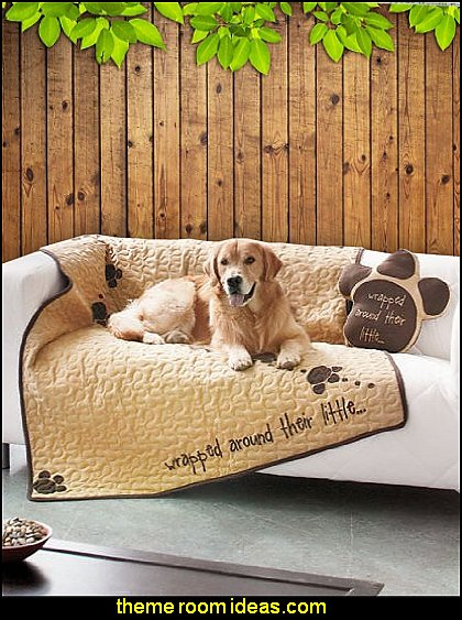 dogs rule fun dog themed decor  treehouse theme bedrooms - backyard themed kids rooms - cat decor - dog decor - bugs and critters theme bedrooms - camping theme bedrooms - Happy Camper little boys outdoor theme bedroom