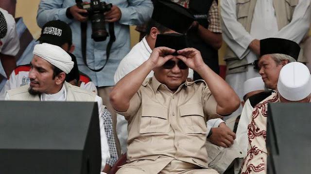 Prabowo: Indonesia Ini Sudah Kena Kanker Stadium Empat Kasus Korupsinya